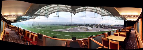Cheltenham Race Course from the Panoramic Suite #CABAluSpec