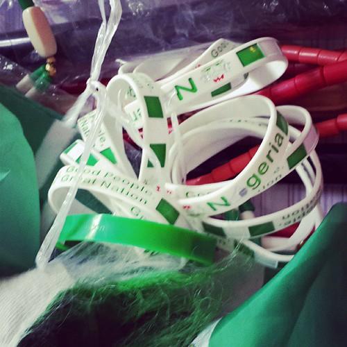 Bound together in #greenwhitegreen. 'Good people, great nation.' Happy #independenceday #nigerianindependenceday #octoberfirst #nigeria #naija