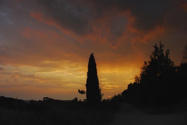 Tuscan Sunset   Flickr...