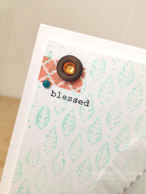 blessed cu by Kimberly Crawford