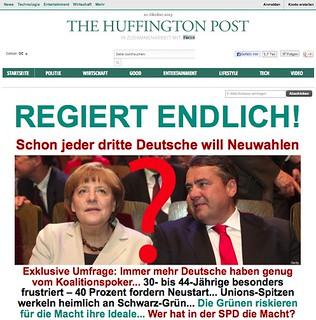 Startseite Huffington Post