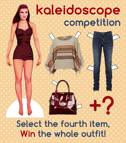 Not Dressed As Lamb Paper Doll - Kaleidoscope Competition
