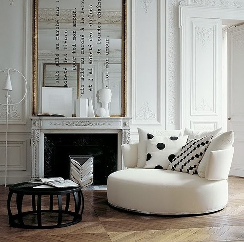 French Wall Covering : Things that inspire french style tall mirrors and