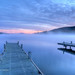 Blue Hour just before sunrise.  Lake George, Adirondacks, New York