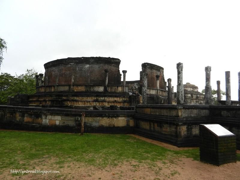 Полуннарува - культурная ценность Шри Ланки