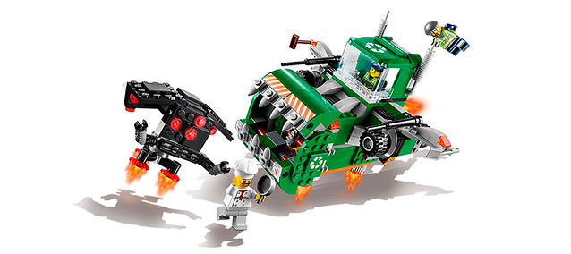 LEGO Movie 70805 - Garbagetruck