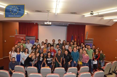 Jóvenes Europeos, Social Media, Murcia, Universidad de Murcia, Redes Sociales, Jornadas , cursos