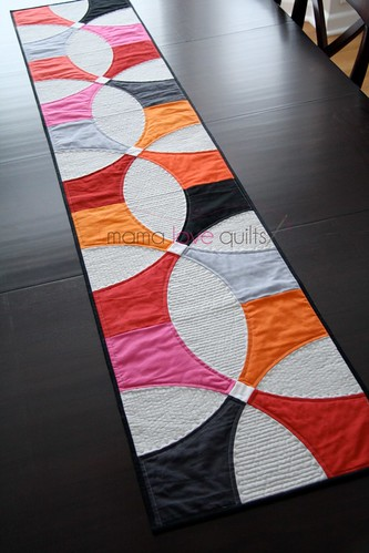 Modern Patchwork Winter 2014_Table Runner