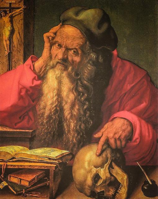 Albrecht d rer the professor hieronymus 1521 national for Albrecht hesse