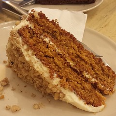 meal, carrot cake, baked goods, food, dish, dessert, cuisine,