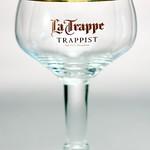 ベルギービール大好き!!【ラ・トラップの専用グラス】(管理人所有 )