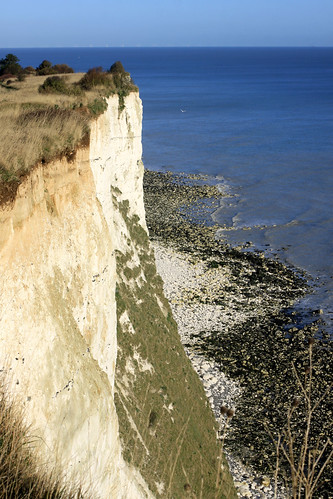 The cliffs at St Margaret's