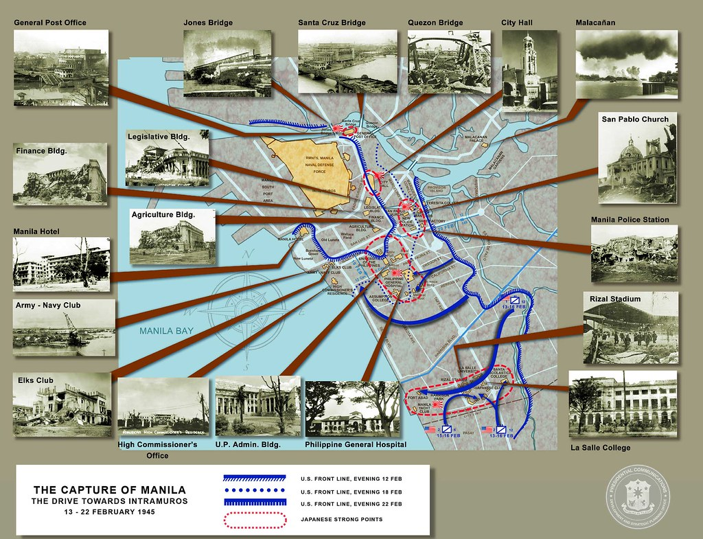 Presidential Museum And Librarys Most Interesting Flickr Photos Bridge Diagram Photo Sharing The Capture Of Manila Drive Towards Intramuros