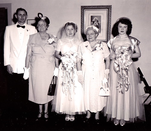 The Wedding Party, May 1953, Black and White Print