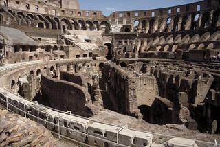 Colosseum (Flavian Amphitheater):  interior