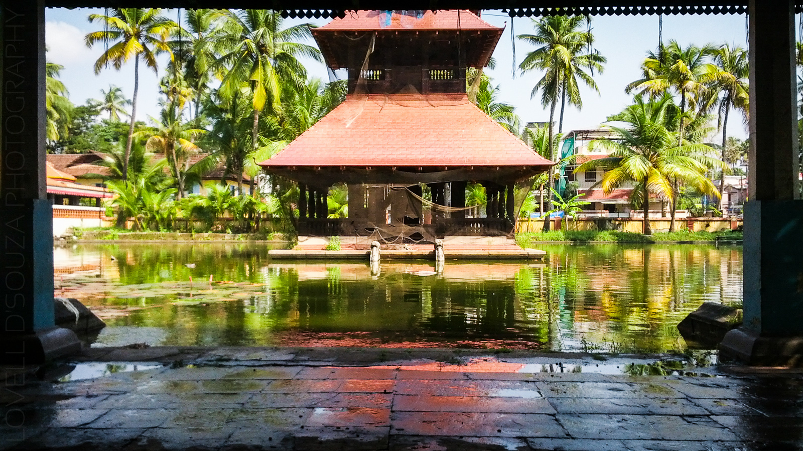 Thirumala Devaswom Temple Pond, Fort Kochi