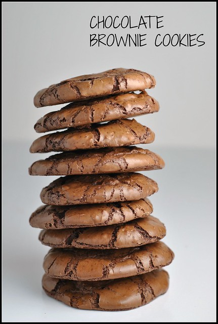 Chocolate Brownie Cookies 1