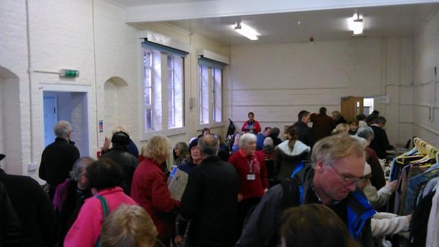 Recycle Swap Shop in Rye, Jan 2014