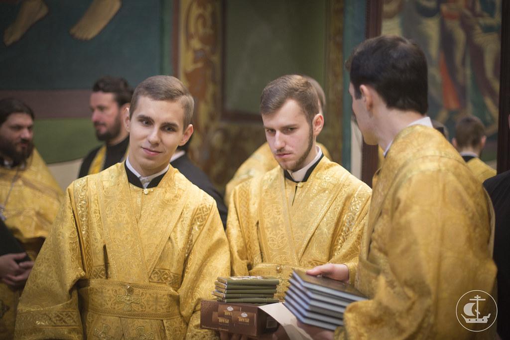 26 января 2014, Литургия в Петергофе / 26 January 2014, Divine Liturgy in Petergof