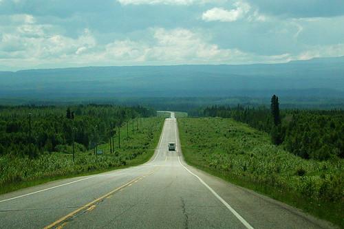 Fort Nelson, Alaska Highway 97, Northern British Columbia, Canada