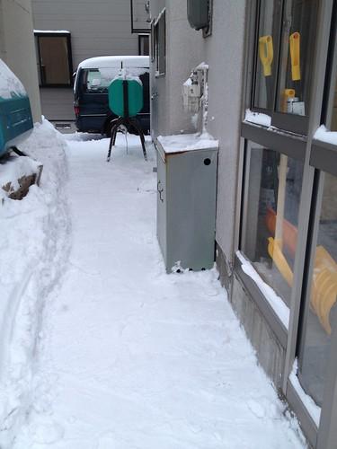 屋根の雪下ろし 2014-2-1 No.3