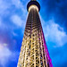 Sky Tree at Night