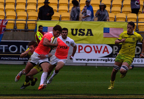 HSBC Sevens World Series - Wellington 2014