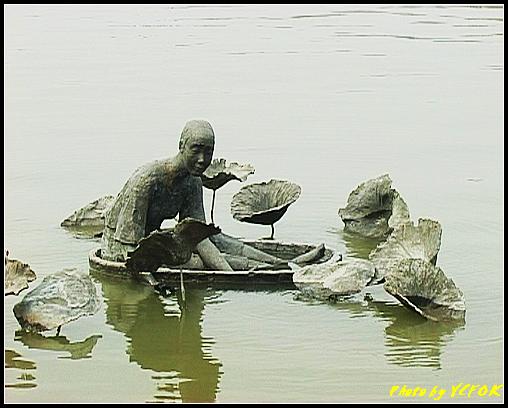 杭州 西湖 (其他景點) - 631 (古湧金門一帶 銅像)