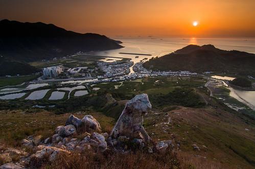 日落。大澳(Tai O,Hong Kong)