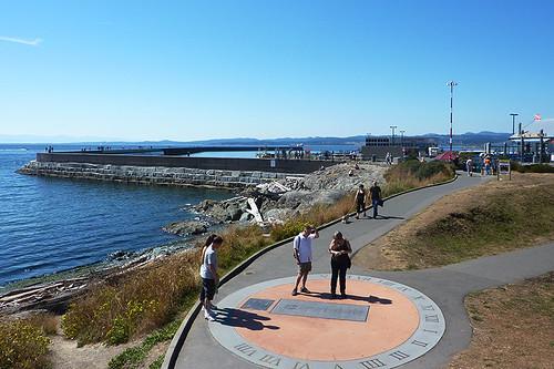 Ogden Point, James Bay, Victoria, Vancouver Island, British Columbia, Canada
