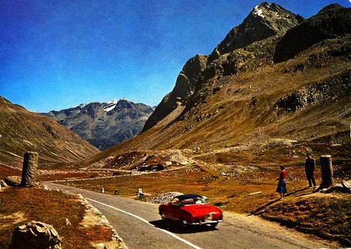 Switzerland - Julier Pass [001] - 1965 - front by Yedi72