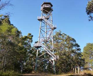 Urbex Fire Tower Climb