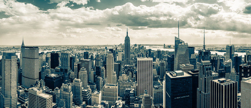 Manhattan from the Rock