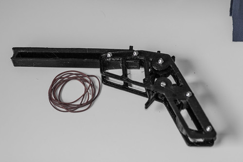 Gedruckte Gummiband-Pistole