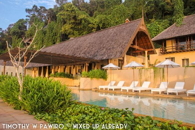 Malaysia - Kinabalu - Gaya Island Resort - The swimming pool