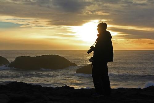 ocean winter sunset sea mist black beach coast iceland waves profile atlantic zé ísland vík promontory suðurland dyrhólaey picmonkey:app=editor