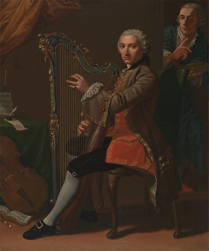 Nathaniel Dance-Holland - Cristiano Giuseppe Lidarti and Giovanni Battista Tempesti (c.1759)
