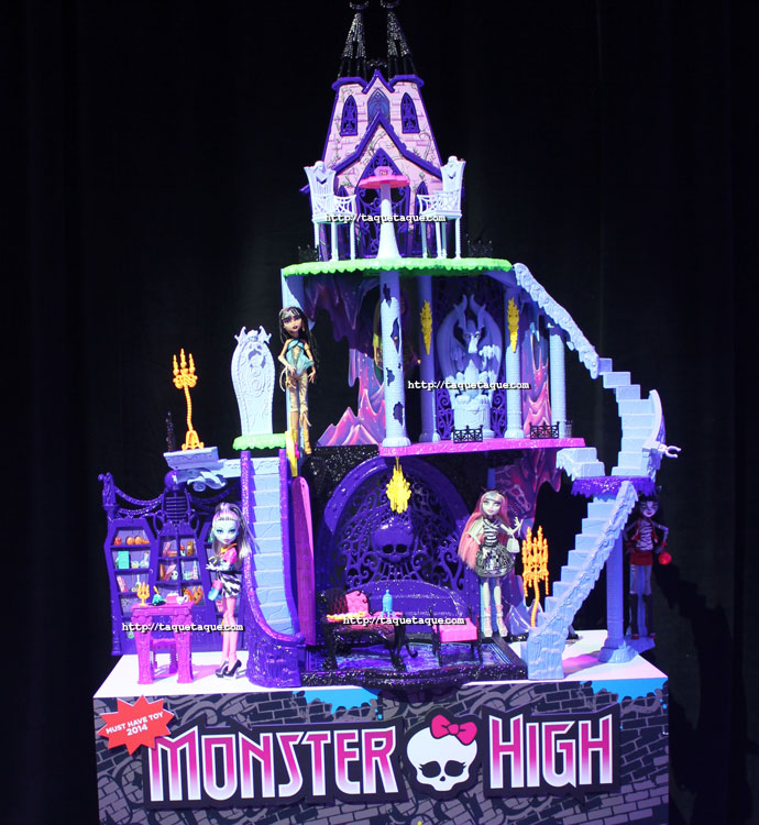 New Monster High dollhouse - NY Toy Fair 2014