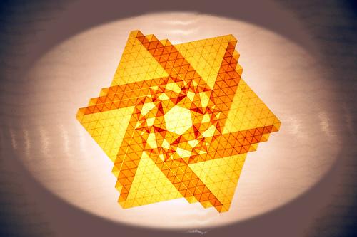 Triple-pleat tessellation (John McKeever)