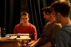 Wed, 2014-03-05 06:46 - Behind-the-scenes pictures of rehearsals for our adaptation of Dorian.