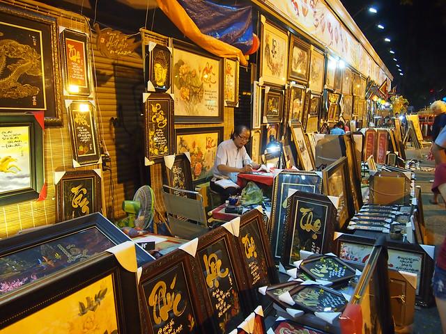 Calligraphy in Saigon