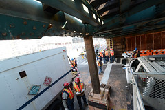 Repairing Damaged Elevated Structure on the 1 Line