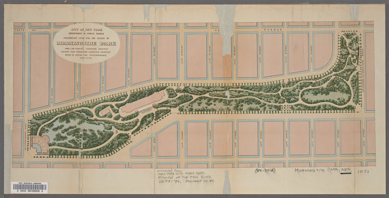 morningside park map