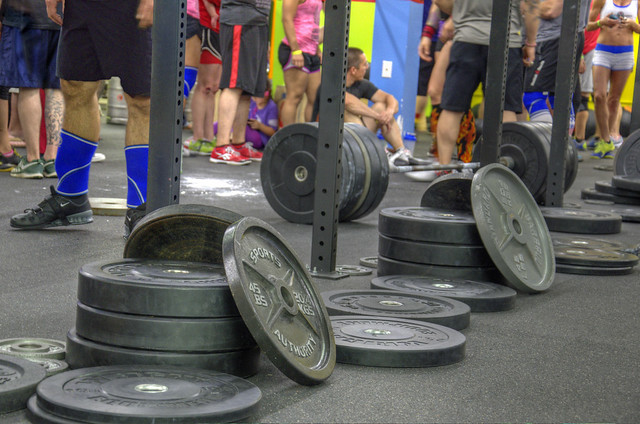 Crossfit view from the floor flickr photo sharing
