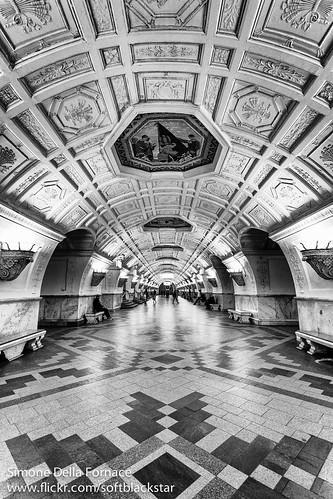 Belorusskaya Metro Station - Moscow