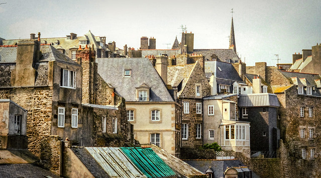 The Many Buildings of St. Malo