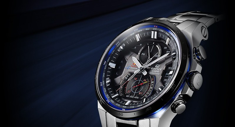 Casio Releases Limited Edition EDIFICE Metal Watch Designed in Collaboration with Infiniti Red Bull Racing - Alvinology