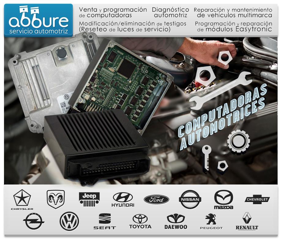 ABBURE - Servicio Automotriz | Venta y programación de computadoras