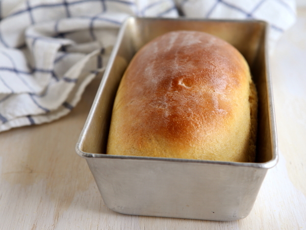 Yeasted Honey Cornbread Loaf - Completely Delicious