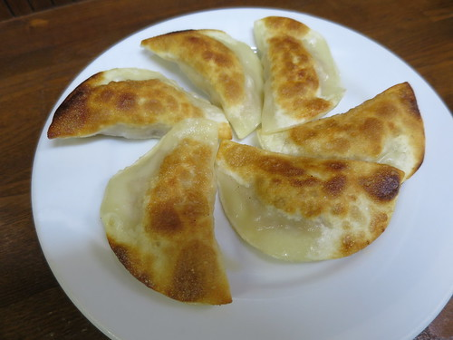 【立川】路地裏の大衆居酒屋「餃子会館丸山」で驚きのひだ無し両面焼き餃子に出会った
